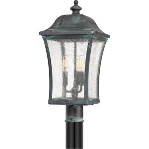 Bardstown - 3 Light Outdoor Post Lantern - 25.25 Inches high