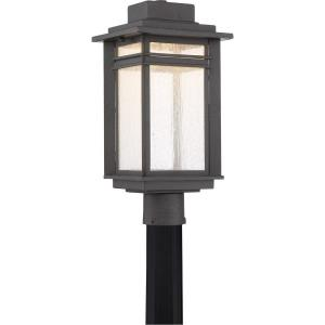 Beacon - 22W 1 LED Large Outdoor Post Lantern - 18.75 Inches high