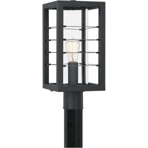 Bimini - 1 Light Large Outdoor Post Lantern in Transitional style - 8 Inches wide by 17.75 Inches high