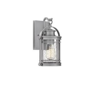 Booker 11.5 Inch Outdoor Wall Lantern Transitional Aluminum
