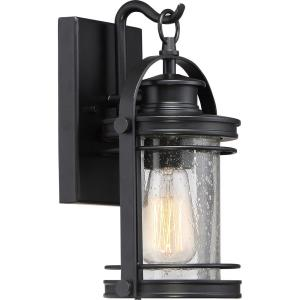 Booker 11.5 Inch Small Outdoor Wall Lantern Transitional Aluminum