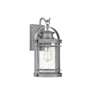 Booker 15 Inch Outdoor Wall Lantern Transitional Aluminum