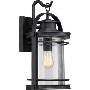 Booker 18.25 Inch Outdoor Wall Lantern Transitional Aluminum - 18.25 Inches high