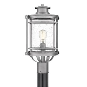 Booker - 1 Light Outdoor Post Lantern - 19.5 Inches high