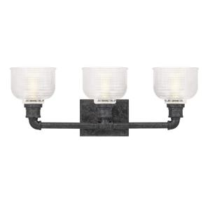 Boomer 3 Light Transitional Bath Vanity - 8.5 Inches high