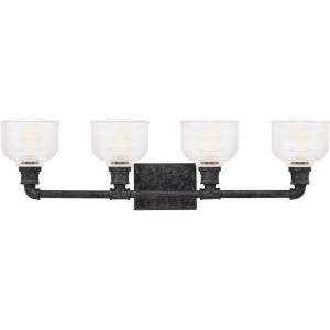 Boomer 4 Light Transitional Bath Vanity - 8.5 Inches high
