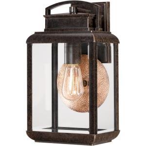 Byron 14.5 Inch Medium Outdoor Wall Lantern Transitional Aluminum