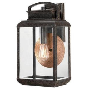 Byron 18 Inch Large Outdoor Wall Lantern Transitional Aluminum