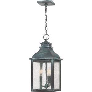 Branson - 3 Light Outdoor Hanging Lantern - 20.25 Inches high