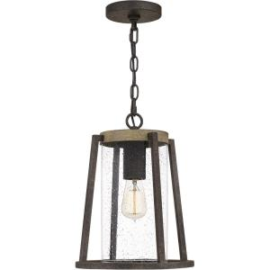 Brockton - 1 Light Large Outdoor Hanging Lantern in Transitional style - 10.5 Inches wide by 13.75 Inches high