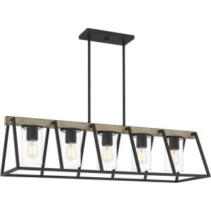 Brockton - 5 Light Linear Chandelier