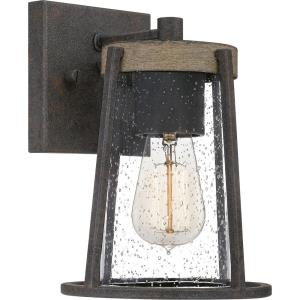 Brockton - 1 Light Small Outdoor Wall Lantern in Transitional style - 6.5 Inches wide by 9.25 Inches high