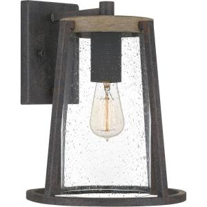 Brockton - 1 Light Large Outdoor Wall Lantern in Transitional style - 10.5 Inches wide by 13.5 Inches high