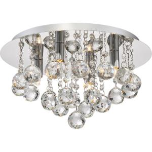 Bordeaux - 4 Light Flush Mount