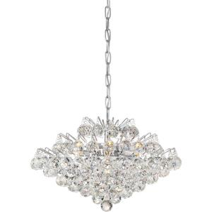 Bordeaux - 7 Light Pendant - 12.25 Inches high