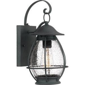 Boston 14 Inch Outdoor Wall Lantern Transitional Aluminum Approved for Wet Locations - 14 Inches high