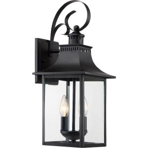 Chancellor 19 Inch Outdoor Wall Lantern Traditional Steel