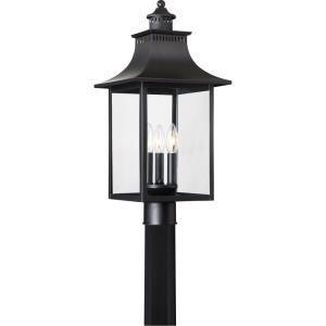 Chancellor - 3 Light Outdoor Post Lantern - 22 Inches high