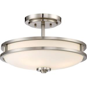 Cadet - 3 Light Medium Semi-Flush Mount - 10 Inches high