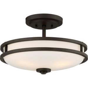 Cadet - 3 Light Medium Semi-Flush Mount