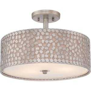 Confetti - 3 Light Semi-Flush Mount - 11.5 Inches high
