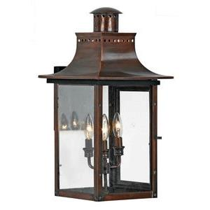 Chalmers - 3 Light Wall Lantern