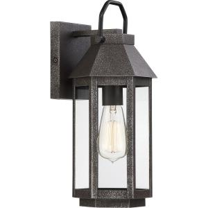 Campbell 14.75 Inch Outdoor Wall Lantern Traditional Steel