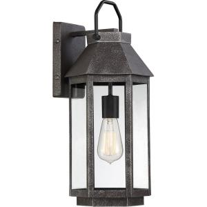 Campbell 18 Inch Outdoor Wall Lantern Traditional Steel