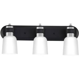 Conrad 3 Light Transitional Bath Vanity - 9 Inches high