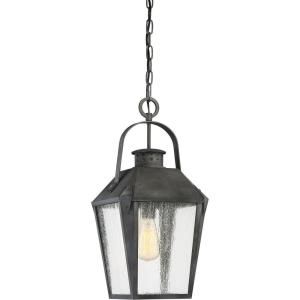 Carriage - 150W 1 Light Outdoor Large Hanging Lantern