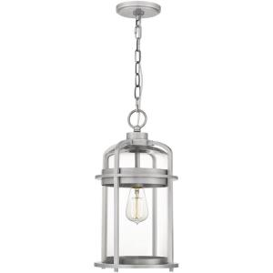 Carrington - 1 Light Large Outdoor Hanging Lantern in Transitional style - 9 Inches wide by 17.5 Inches high