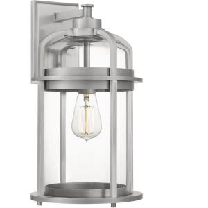 Carrington - 1 Light Large Outdoor Wall Lantern in Transitional style - 9 Inches wide by 16.75 Inches high
