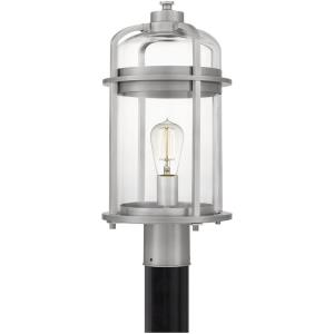 Carrington - 1 Light Large Outdoor Post Lantern in Transitional style - 9 Inches wide by 18.25 Inches high