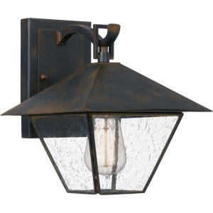 Corporal - 1 Light Medium Outdoor Wall Lantern in Transitional style - 8.5 Inches wide by 10 Inches high