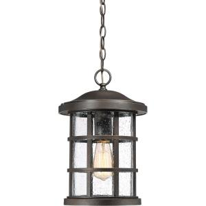 Crusade - 150W 1 Light Outdoor Large Hanging Lantern
