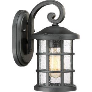 Crusade - 100W 1 Light Outdoor Small Wall Lantern