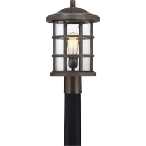 Crusade - 150W 1 Light Outdoor Large Post Lantern - 17.25 Inches high