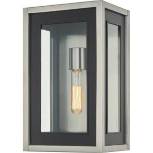 Convoy - 1 Light Large Outdoor Wall Lantern in Transitional style - 9 Inches wide by 14.75 Inches high