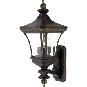 Devon - 3 Light Wall Lantern - 26 Inches high
