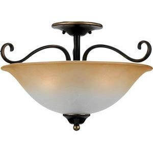 Duchess - 3 Light Medium Semi Flush Mount
