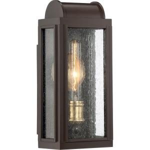 Danville 14.5 Inch Outdoor Wall Lantern Transitional Aluminum Approved for Wet Locations