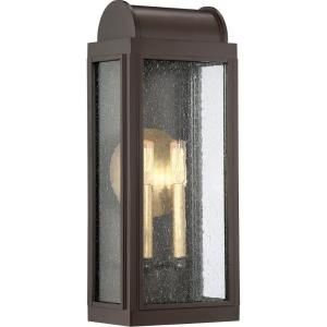 Danville 19 Inch Outdoor Wall Lantern Transitional Aluminum Approved for Wet Locations