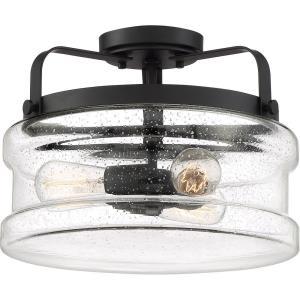 Danbury - 3 Light Semi-Flush Mount - 10.5 Inches high