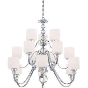 Downtown 3 Tier Chandelier 15 Light