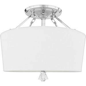 Deluxe - 3 Light Extra Large Semi Flush Mount