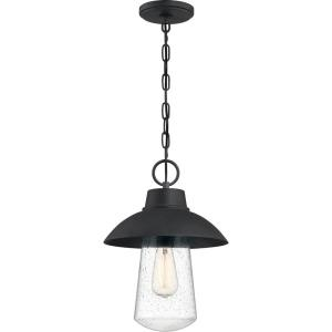 East Bay - 1 Light Outdoor Hanging Lantern - 15.25 Inches high
