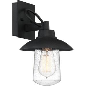 East Bay 11.5 Inch Outdoor Wall Lantern Transitional Aluminum Approved for Wet Locations - 11.5 Inches high