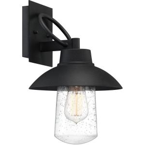 East Bay 13.75 Inch Outdoor Wall Lantern Transitional Aluminum/Glass Approved for Wet Locations - 13.75 Inches high