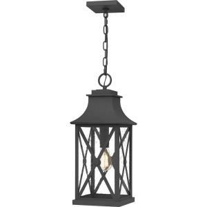 Ellerbee - 1 Light Outdoor Hanging Lantern - 21.25 Inches high