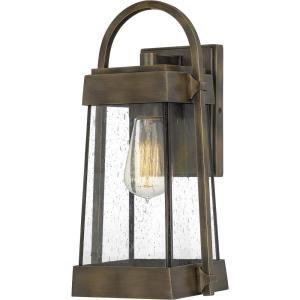 Ellington 14 Inch Outdoor Wall Lantern Transitional Aluminum